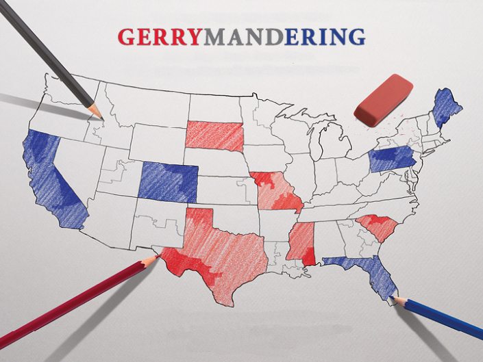 Gerrymandering the U.S. Map