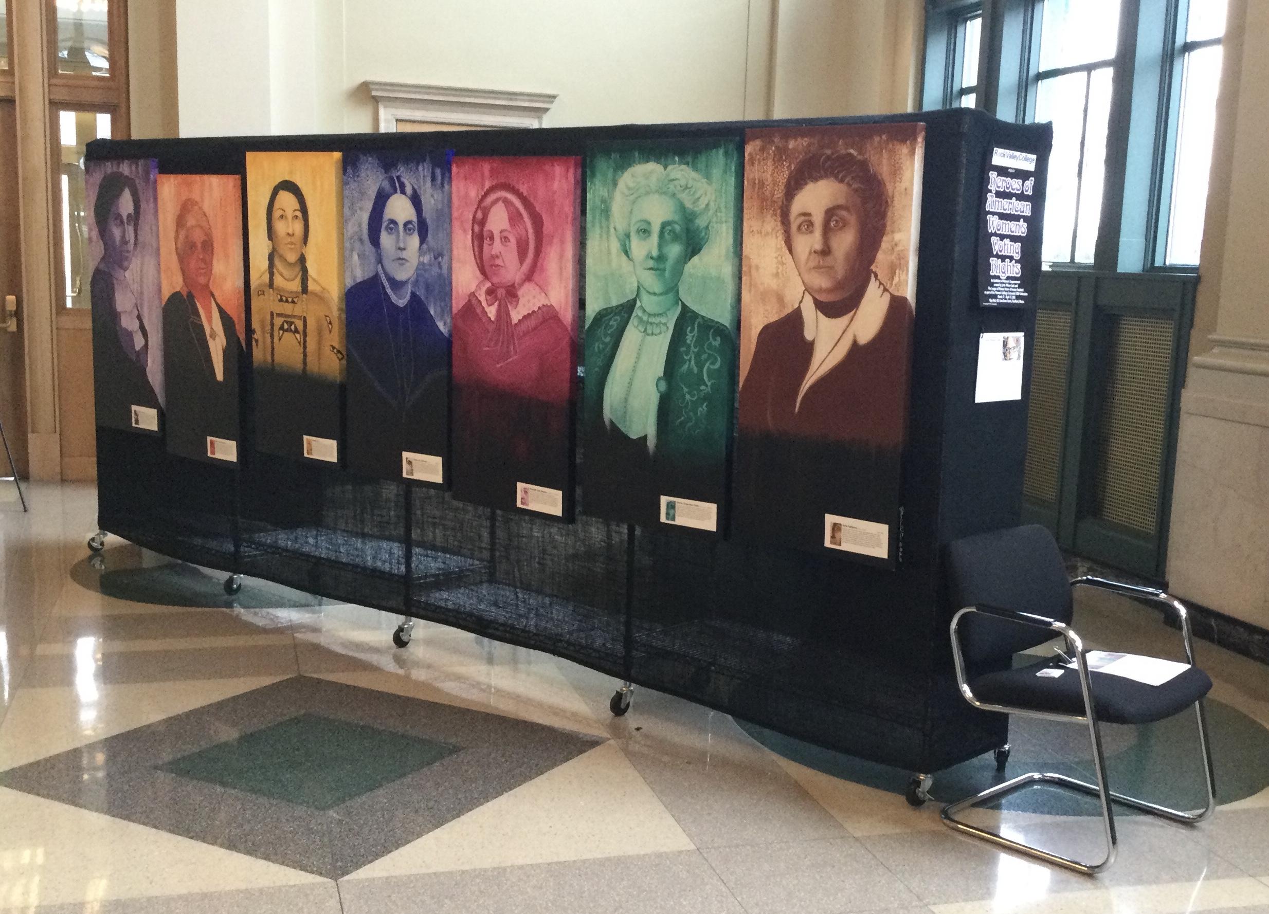 City hall exhibit .