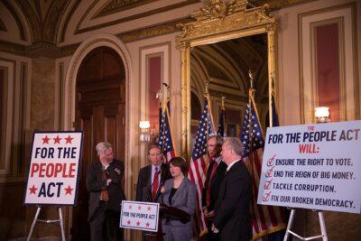"Senator Amy Klobuchar explains the "" For the People"" act."